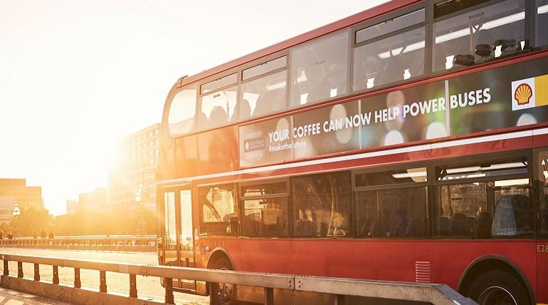 Bus mit Biodiesel