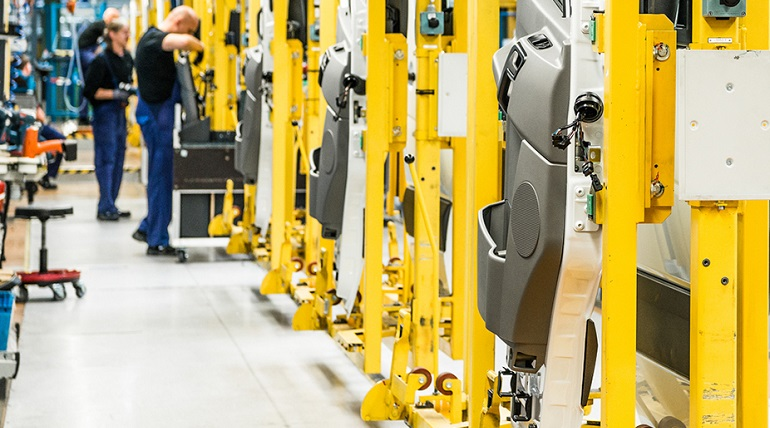 RFID Automobilproduktion