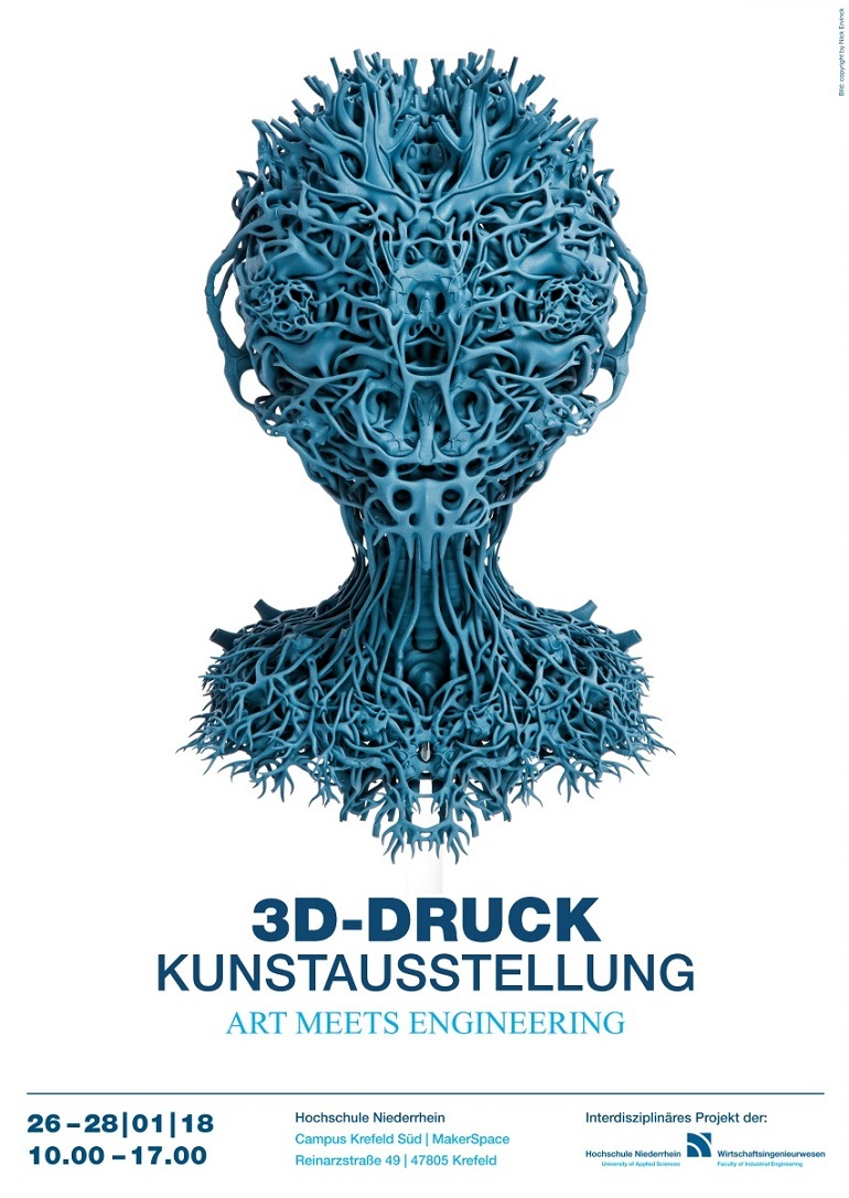 3D-Kunst Hochschule Niederrhein