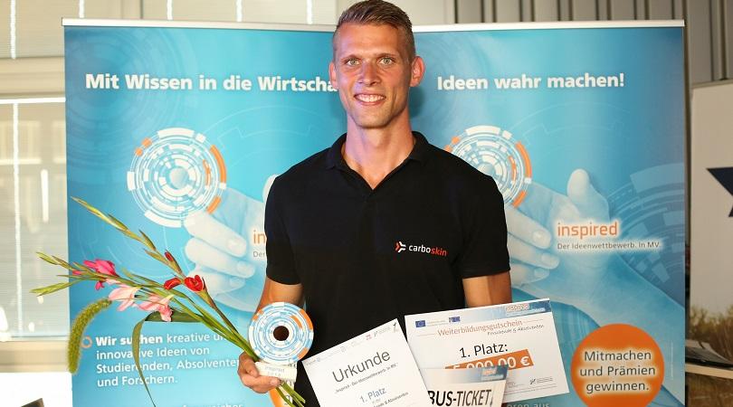Hannes Mirow gewinnt inspired