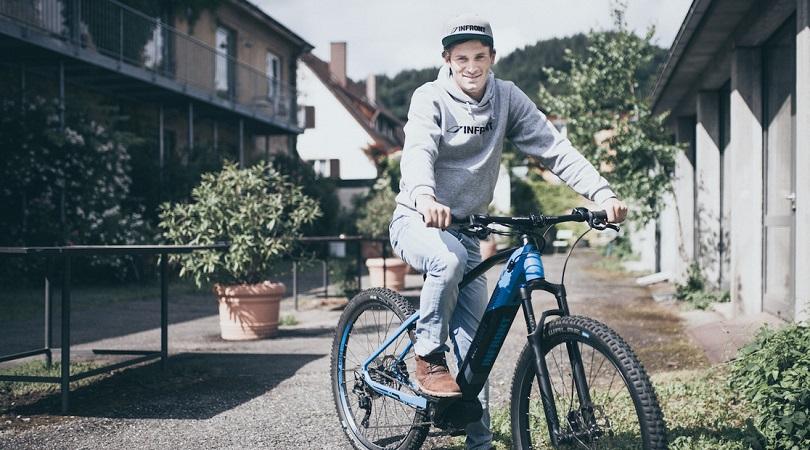 Markus Bauer Infront Mountainbike