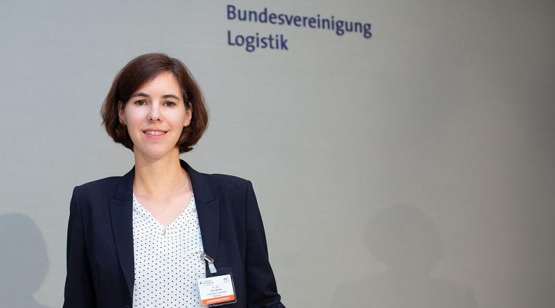 Wissenschaftspreis Logistik für WiIng Eva Klenk