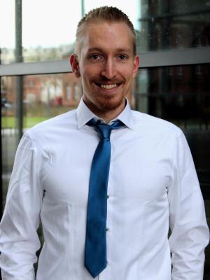 Joshua Niebecker, Studentischer Vertreter im Verband Deutscher Wirtschaftsingenieure (VWI e.V.)
