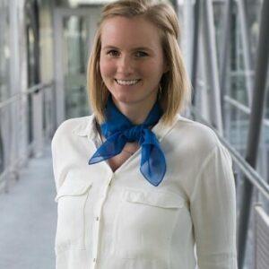 Silvia Kaminski, Studentische Vertreterin im Verband Deutscher Wirtschaftsingenieure (VWI e.V.)