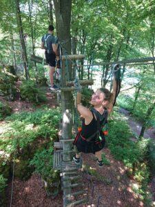 Teamevent Kletterpark